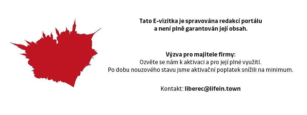 Prodejna skla GLASS SHOP Liberec