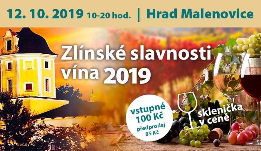 Zlínské slavnosti vína 2019 - 12. 10. 2019